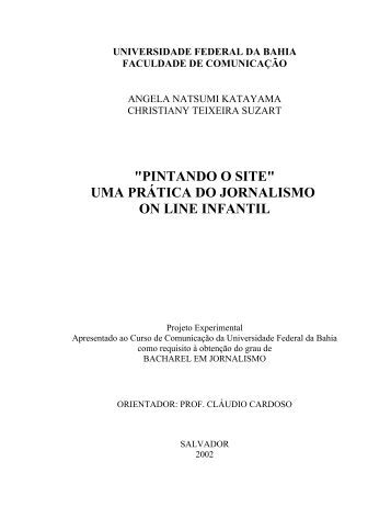 Monografia - Facom - Universidade Federal da Bahia