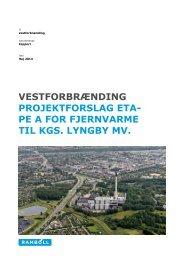 Projektforslag - Lyngby Taarbæk Kommune