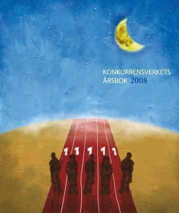 konkurrensverkets årsbok 2008 26