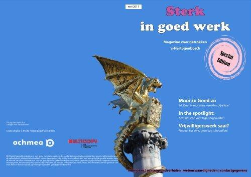 Magazine - Mooi zo Goed zo, Partners in Sociale Sponsoring