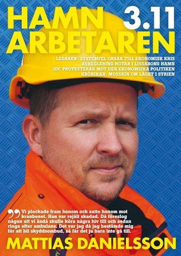 Hamn_2011-3.pdf - Svenska Hamnarbetarförbundet