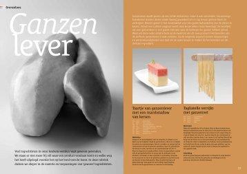 Taartje van ganzenlever met een marshmallow van ... - Hollandia