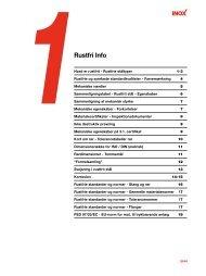 Viden om rustfrit - Inox A/S