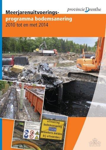 Meerjarenuitvoeringsprogramma.pdf - Provincie Drenthe