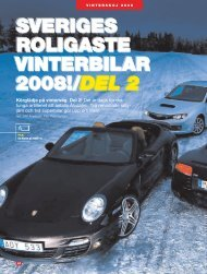 SVERIGES ROLIGASTE VINTERBILAR 2008!/DEL 2 ... - BestGrip
