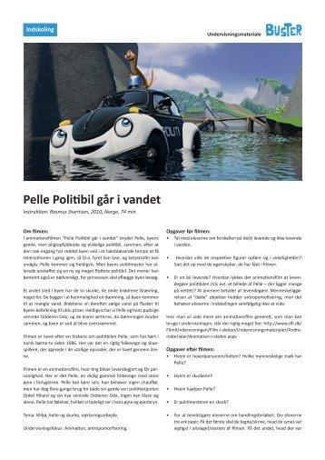 Pelle Politibil går i vandet - BUSTERs