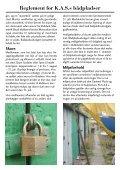 Reglement for KASs bådpladser - Kjøbenhavns Amatør-Sejlklub - Page 6