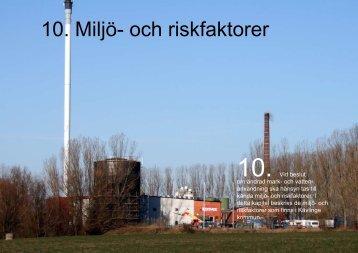 10. Miljö- och riskfaktorer - Kävlinge