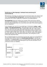Förklaring av begrepp och avgifter - Trosa kommun