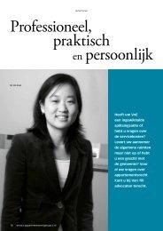 Professioneel, praktisch en persoonlijk - Picassoweb