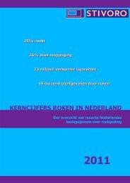 Kerncijfers roken in Nederland 2011 - Stivoro