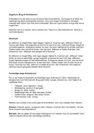 Opgave 6: Brug af forbinderord Forbinderord er ... - Samfundslitteratur