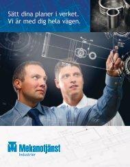 Företagspres. - Mekanotjänst Industrier
