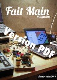 Lire la Version PDF - Fait Main Magazine