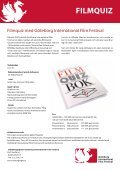 GÖTEBORG INTERNATIONAL FILM FESTIVAL EVENTERBJUDANDE - Page 2