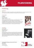 GÖTEBORG INTERNATIONAL FILM FESTIVAL EVENTERBJUDANDE - Page 5