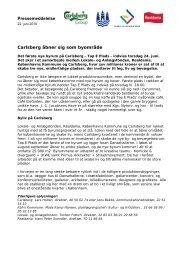Pressemeddelelse Carlsberg åbner sig som ... - Carlsberg Byen