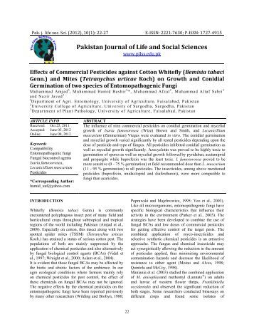 pakistan journal of social sciences Pakistan - sir ranking of  social sciences (miscellaneous)  sjr is a measure of scientific influence of journals that accounts for both the number of citations .