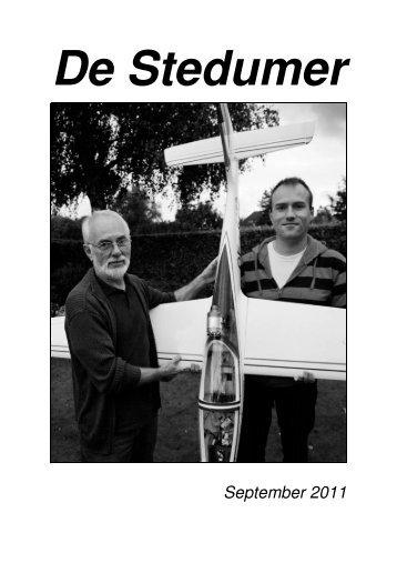Klik hier voor de Stedumer van september 2011 - Stedum.Com