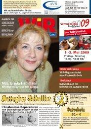 Nutzen Sie jetzt die Energie der Sonne! - Das WIR-Magazin im ...