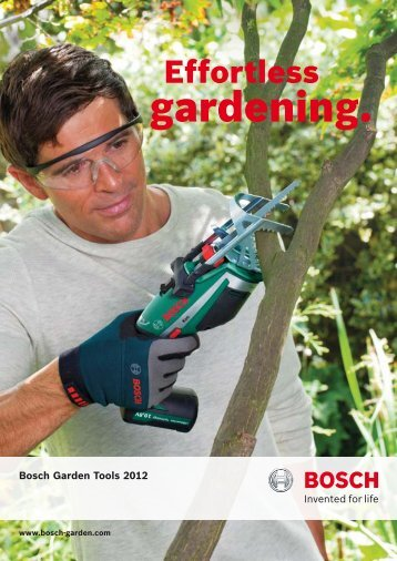 Download product catalogue - Bosch Power Tools