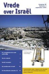ook beschikbaar als pdf-bestand (450k) - Kerk en Israël