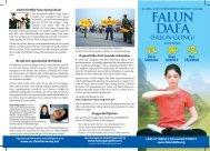 (FALUN GONG) - Falun Dafa in Europe