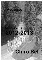 PICOBELLO STARTEDITIE - Chiro Bel
