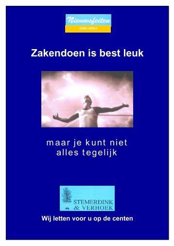 download PDF 2003-3 - Stemerdink Registeraccountants BV
