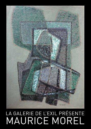 MaUriCe MOreL - Galerie de l'Exil