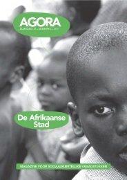 AGORA 2011-2 De Afrikaanse Stad - AGORA Magazine