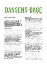 Parrenes dans i Slagelse - Dansens Dag
