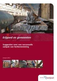 Brochure Erfgoed en gemeenten - UrbanSolutions