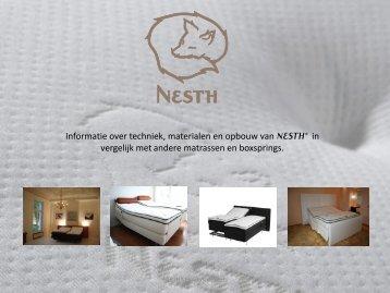 Download PDF: Informatie over opbouw - Nesth® bedden