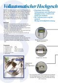 Vollautomatischer Hochgeschwindigkeits ... - TRIBIS GmbH - Seite 2
