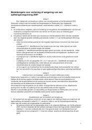 Beleidsregels voor verlening of weigering van ... - Vastgoed Belang