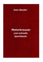 Motorkreuzer und schnelle Sportboote