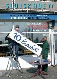 FLOTTIELJEZEILEN IN 2006 MET DE WSV - Sluiskade 11