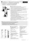 Installation guide 10.2012 Montagevejledning ... - velfac.ie - Page 7