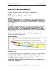TB del I, bilaga 3.6 – Bilagor till PM geoteknik och ... - Swedavia