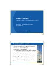 Preliminär Produktionsutvärdering (PDF 118 kB) - Vattenfall