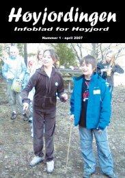 Nummer 1 - april 2007 - Høyjord Ungdomslag
