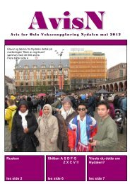 Mai 2012 - Oslo Voksenopplæring Nydalen