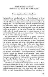 Bornholmerskolen - Isakson og Weie på Bornholm - Bornholms ...