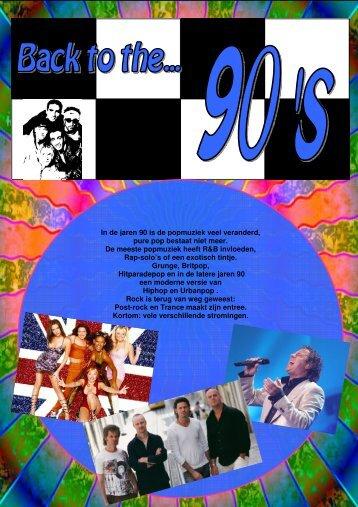 Deel 5 De jaren '90 - HWC Muziek