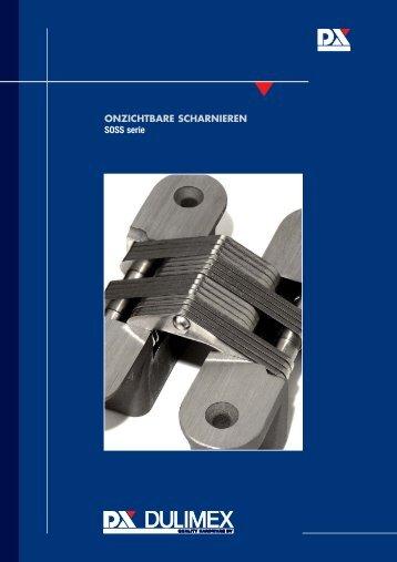 Productinformatie SOSS scharnieren - Sloterop