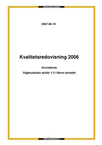 Vågbroskolan skolår 1-3.pdf - Söderhamns kommun