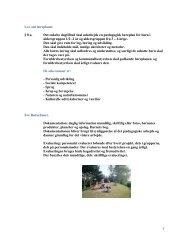 1 Lov om læreplaner § 8 a. Det enkelte dagtilbud skal ... - Børnehuset
