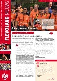 Flevoland Nieuws 13 (september 2011) - Brandweer