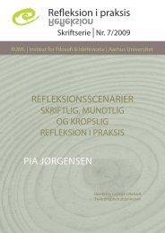 Refleksion i praksis Refleksion - University College Lillebælt